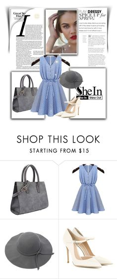 """""""SheIn I"""" by nermina-okanovic ❤ liked on Polyvore featuring Gianvito Rossi and shein"""