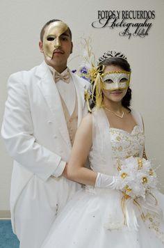 Masquerade Ball Themed Quinceanera