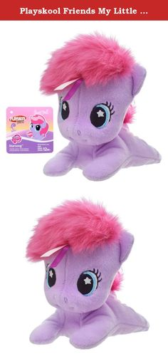 Playskool Friends My Little Pony Starsong 6-Inch Plush. Every day can bring smiles with adorable friends your little one can snuggle and play with! This sweet, soft, and age-appropriate Starsong plush is sure to delight your little one. Fun ribbon textures in the pony's hair make for extra-colorful fun. With a mini 6-inch scale, she's a great companion to bring on the go! Playskool Friends, My Little Pony, and all related properties are trademarks of Hasbro.