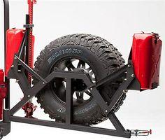Smittybilt Tubular Rear Bumper w/ Hitch, Textured Black (07-14 Wrangler JK) $289.99