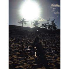 Sunset ☀️   #sun #beach #hot #brazil