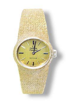 Schweizer Damenuhr CHOPARD mit Milanese Weissgold Armband