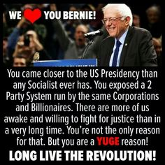 #bernieorbust is now officially #JillOrBust We CAN'T continue the Revolution w. Hill!