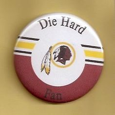 Washington Redskins Football Fan Refrigerator Magnet (NFL6-2)