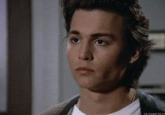 young johnny depp gif