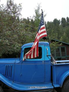Jamestown, CO truck. 4th of July.  Photo by Cathy Rivers.