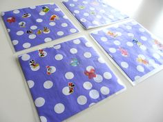 Tea Party Place Mat Craft For Kids