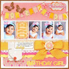 Birthday Girl - Scrapbook.com