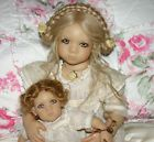Item picture  Freeke with Bibi, her doll, by Annette Himstedt