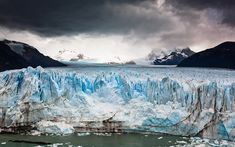Ice World | The Perito Moreno Glacier by Jakub Polomski, via Behance