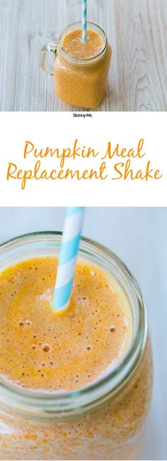 With 23 grams of protein and 47 grams of carbohydrates, this Pumpkin Meal Replacement Shake with keep you energized and satisfied.