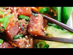 Easy Homemade Ahi Tuna Poke Bowl Recipe | Jessica Gavin