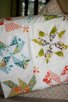 Pinwheel Sampler Quilt Top