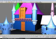 in #3D update: --- Created both main windows and the straight corbel set under the top main window. Cut into the main roof and molding under the roof eave to allow the upper window to embed. --- http://ift.tt/1G95kUE --- #disney #disneyland #3dprinting #sketchup #anaheim #california #sleepingbeauty #castle #fantasyland #waltdisney by modelingdisney