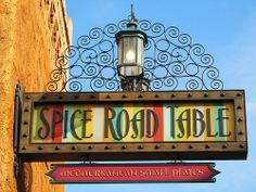 Day 3: Epcot Lunch: Spice Road Table I love the view from here :)  #passporter