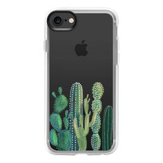 Festival cactus - iPhone 7 Case And Cover ($40) ❤ liked on Polyvore featuring accessories, tech accessories, iphone case, iphone cases, apple iphone case and clear iphone case