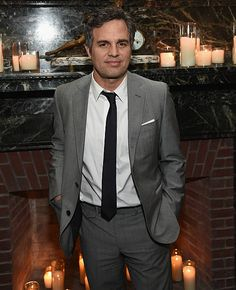 Mark Ruffalo attends the after party of Marvel's 'Avengers Age Of Ultron' screening hosted by The Cinema Society and Audi at The New York Edition on...
