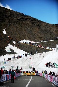 Passo dello Stelvio ! Giro d'Italia 2012
