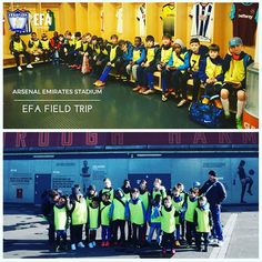 Another snapshot of the EFA's field trip to the Emirates Stadium. ⚽️ #WeAreEFA #TeamEFA #EFALondon #EFAcamps #EFAfieldTrips @arsenal @arsenalfcfans @arsenalfootball #EFAgoestoArsenalEmiratesStadium #YouthFootball #LondonAcademy #LondonCamps #LondonTrainingCamps #YouthFootball