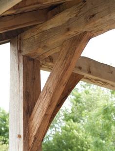 Wooden Roof Truss Supports | Dirk Cousaert