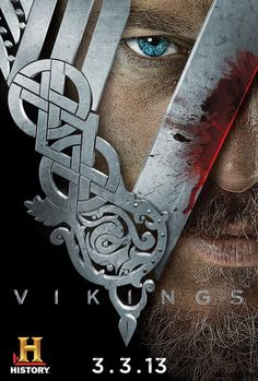 Vikings on History Channel.  It had a Skarsgard in it, so count me in!!