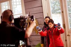Behind the scenes @ Strömsö / Vaasa, Photographer Katja Lösönen