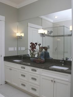 Bathroom:Exquisite White Bathroom Cabinets With Dark Countertops As Well  Interesting White Bathroom Cabinets With