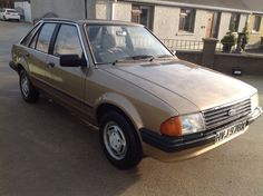 1981 Ford Escort 1.6gl (low Miles)