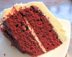 Red Velvet Cake- Cooks Illustrated Recipe.  During the Great Depression, bakers often used beet juice to dye cakes, prompting Adams Extract to use the Red Velvet hue in an advertising campaign! The cake's popularity, which reached its peak in the 1920s and 1930s following its addition to the menu at New York's famed Waldorf Astoria.