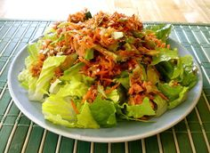 A Reader Recipe: Asian Salmon Slaw Salad