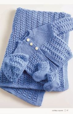 Baby Knitting Patterns Lullaby Layette By Lion Brand Yarns – Free Crochet Pattern S… Baby Cardigan Knitting Pattern Free, Baby Boy Knitting, Knitting For Kids, Knitting Yarn, Knitting Sweaters, Baby Knits, Baby Knitting Patterns Free Cardigan, Knitting Tattoo, Simple Knitting
