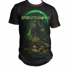 Bravado Men's Avenged Sevenfold Killing Moon T-shirt  #Avenged #Bravado #Killing #Men's #Moon #Sevenfold #Tshirt tshirtpix.com