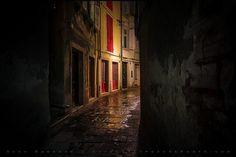 Rainy Night in Piran