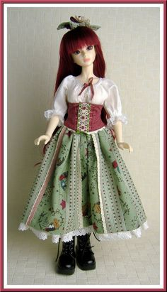Christmas outfit for MSD sized BJD