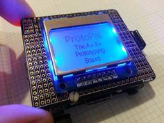 Nokia 5110 Raspberry Pi Board