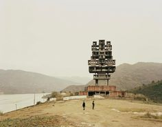 """2,378 Likes, 8 Comments - #BRUTgroup (@brutgroup) on Instagram: """"Frengjie III, Chongqing, China - photograph by Nadav Kander from the series """"Yangtze, The Long…"""""""