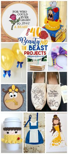 Beauty and the Beast roundup - A girl and a glue gun