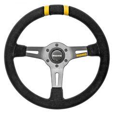 MOMO® - MOD.DRIFT Series Steering Wheel, Black Suede