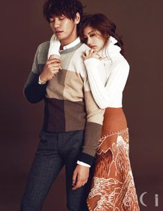 Kim Young Kwang and Jung So Min - Ceci Magazine September Issue '15