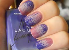 I was requested to do a tutorial for these tie-dye nails, so I quickly recreated a manicure with the same method. Get Nails, Love Nails, How To Do Nails, Pretty Nails, Style Nails, Funky Nail Art, Funky Nails, Sassy Nails, Colorful Nails
