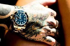 rolex tattoo