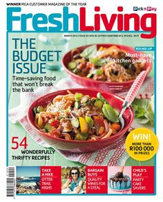 54 wonderful thrifty recipes, party cakes savers, must have kitchen gadgets. #freshliving