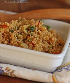 Salada de Quinoa Tostada ao Sesame