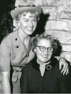 Doris Day & her mom