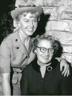 Doris Day & her mom
