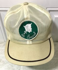 6135102bf79 The Concord Hat Kentucky Trucker Strapback Mesh Patch Louisville Vintage Cap  USA  truckermeshhat  louisville