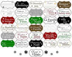 Free printable scrapbooking winter holiday Christmas labels. All rights reserved. Available in french and english !!! Don't forget to quote their author if you use them ! // Etiquettes gratuites à imprimer pour le scrapbooking hiver / fêtes / Noël (en français et en anglais !!!). Tous droits réservés. N'oubliez pas de citer la source si vous les utilisez ! // Find them at / Trouvez les sur : http://scrap-ines.over-blog.com/article-etiquettes-fetes-de-fin-d-annee-62855076.html