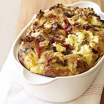Image of  Mediterranean Strata with Goat Cheese-WW 7 pts ea