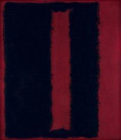 Mark Rothko / Black on Maroon / 1959 /Seagram Mural.