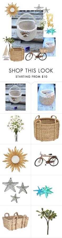 """""""Basket for you"""" by degra ❤ liked on Polyvore featuring interior, interiors, interior design, home, home decor, interior decorating, Jonathan Charles Fine Furniture, Jayson Home and CB2"""